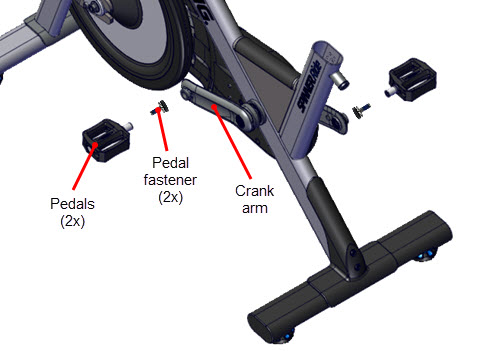 Pedal Replacement