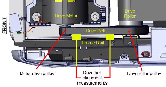 Firs Stage Drive Belt Tension Adjustment Procedure