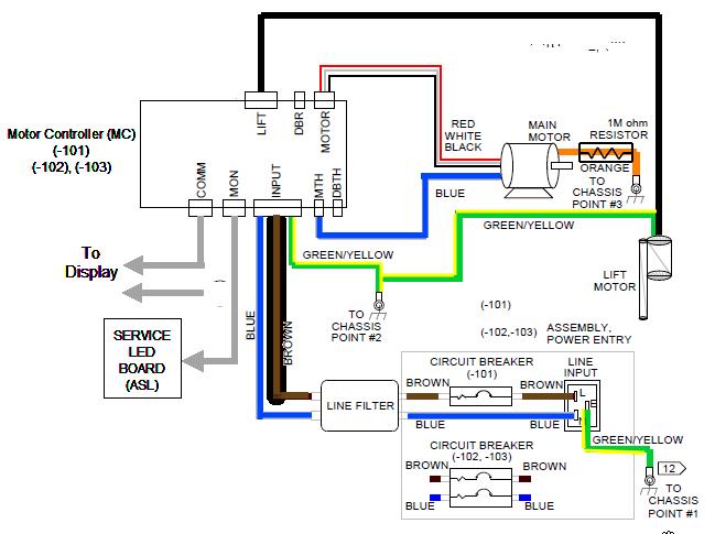 treadmill wiring diagram  car led wiring diagram